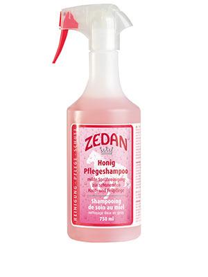 ZEDAN Honig Pflegeshampoo - milde Sprühreinigung zur schonenden Haut- und Fellpflege, in der praktischen Sprühflasche