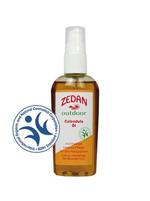 ZEDAN outdoor Calendula Öl - reichhaltige Intensiv-Pflege für alle Hautpartien