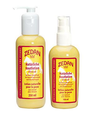 ZEDAN Natürliche Hautlotion - gegen Abschürfungen, Druckstellen, Verlederungen